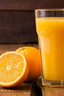Fresh orange juice Kaffee
